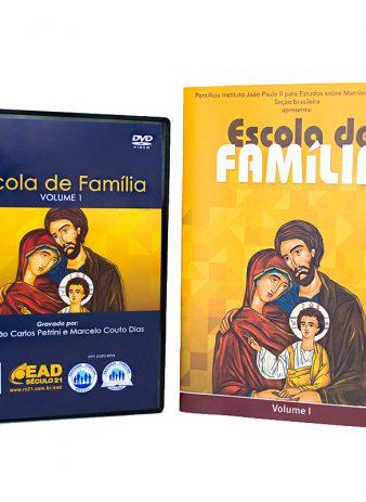 Kit Escola de Família - 1 DVD + 1 Livreto