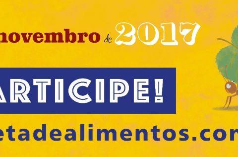 Participe do dia Nacional da Coleta de Alimentos 2017
