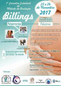 I Encontro Estadual do Método de Ovulação Billings