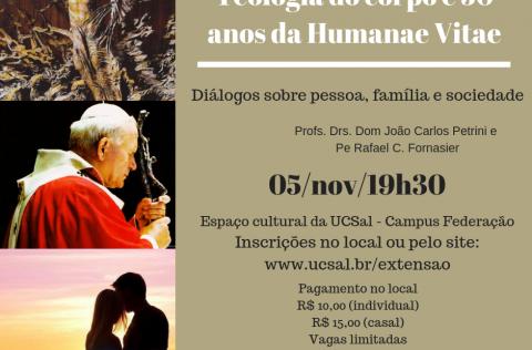 Encontro Diálogos sobre pessoa, família e sociedade