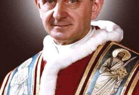 A Igreja hoje celebra o dia de São Paulo VI: Um martírio branco por defender a vida!