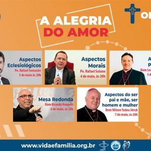"""Seminário on-line """"Alegria do Amor"""""""
